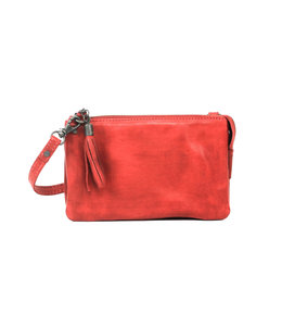 Bear Design Alessia portemonnee tasje red