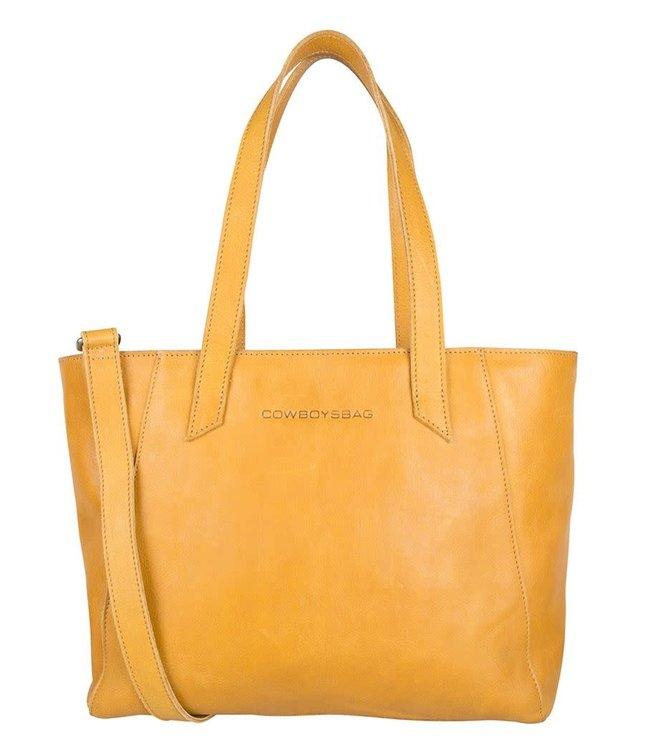 Cowboysbag Slanted bag jenner amber