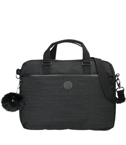 "Kipling Kaitlyn 15.4"" laptoptas true dazz black"