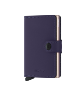 Secrid Miniwallet Matte purple rose