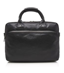 """Castelijn en Beerens Firenze laptop tablet tas 15.6"""" zwart"""