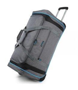 Decent Flexplus 92 liter wieltas grijs-blauw