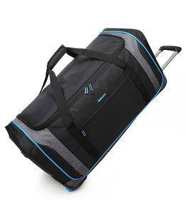 Decent Flexplus 92 liter wieltas zwart-blauw