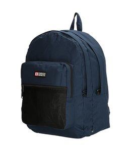 """Enrico Benetti Amsterdam 15"""" laptop rugtas blauw"""