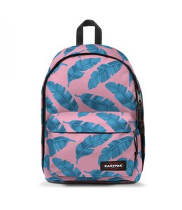 "Eastpak Out of Office 15.4"" laptop-rugzak brize leave pink"