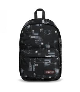 """Eastpak Back to Work 15.6"""" laptop-rugzak  shapes black"""