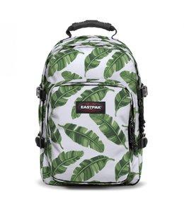"""Eastpak Provider 15.6"""" Laptop Rugtas brize leaves natur"""