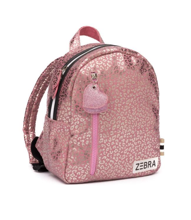Zebra Trends Rugzak S glitter pink