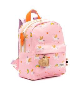 Zebra Trends Rugzak S unicorn love pink