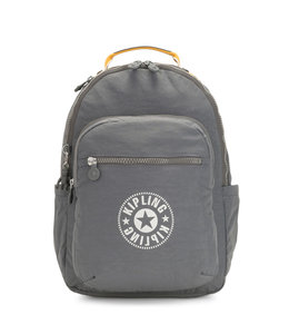 Kipling Seoul laptoprugtas dark carbon yellow
