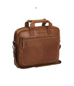 "Chesterfield Calvi 15.4"" laptoptas cognac"