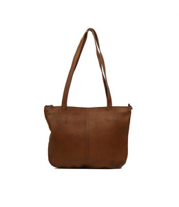 Bear Design leren shopper cognac