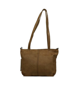 Bear Design Leren shopper taupe