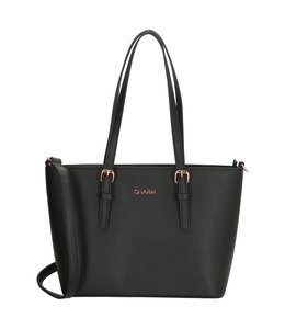 Charm London Marantes shopper zwart