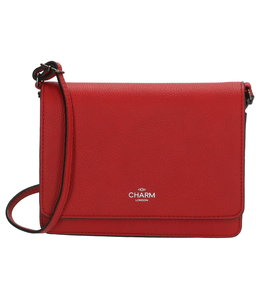 Charm London Stratford schoudertas rood