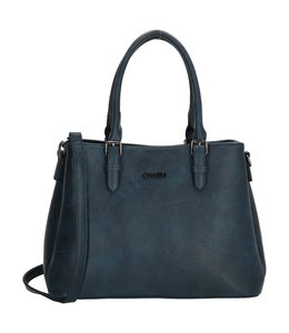 Charm London Paddington handtas blauw
