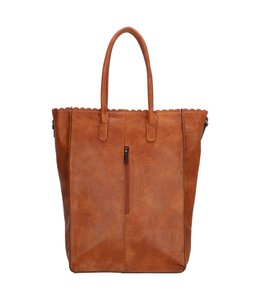 "Charm London Paddington 14"" shopper cognac"