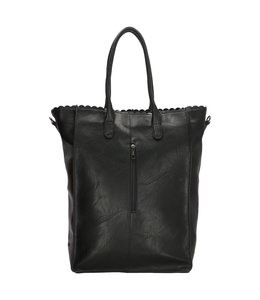 "Charm London Paddington 14"" shopper zwart"