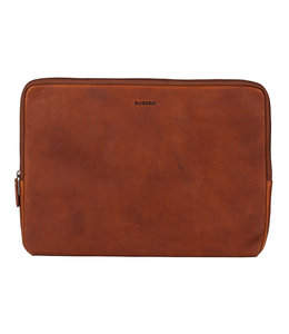 "Burkely Antique Avery 15.6"" laptop sleeve cognac"