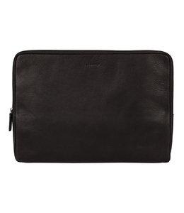 "Burkely Antique Avery 15.6"" laptop sleeve zwart"