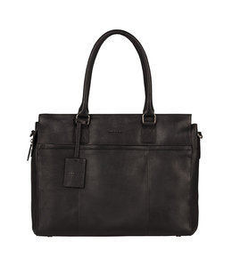 "Burkely 15.6"" womens workingbag black"