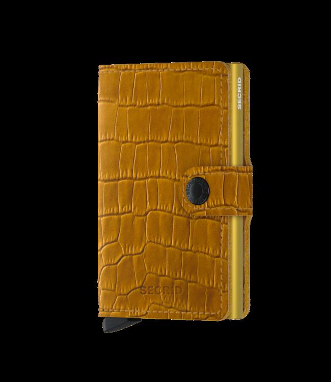 Secrid Miniwallet Cleo ochre brown