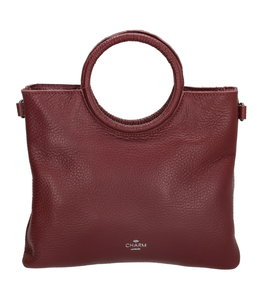Charm hand-/schoudertasje bordeaux rood