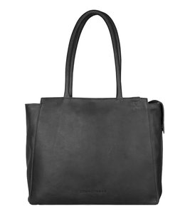 Cowboysbag Raw Laptop Bag Evi 15.6 inch black
