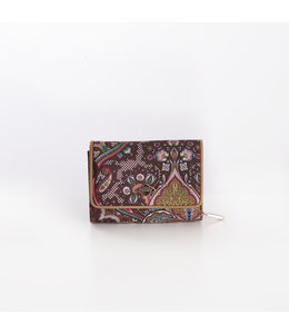 Oilily Paisly S Wallet coffee