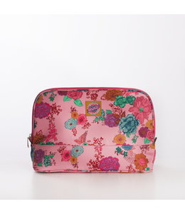Oilily Colour Splash L Cosmetic Bag camellia rose