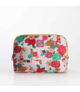 Oilily Colour Splash L Cosmetic Bag winter white