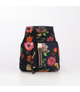 Oilily Winter Bouquet S Backpack navy night