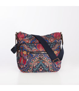 Oilily Paisly M Schoulderbag royal blue