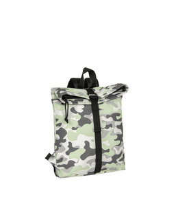 New Rebels Mart Rol mini backpack mint camouflage