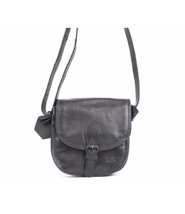 Bear Design Suze klep-schoudertasje zwart