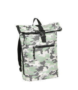 New Rebels Mart Rol waterproof rolltop backpack camouflage