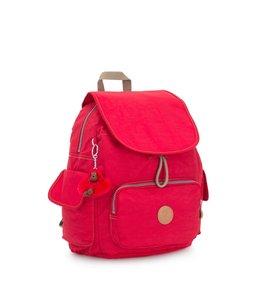 Kipling City Pack S rugtas true red C