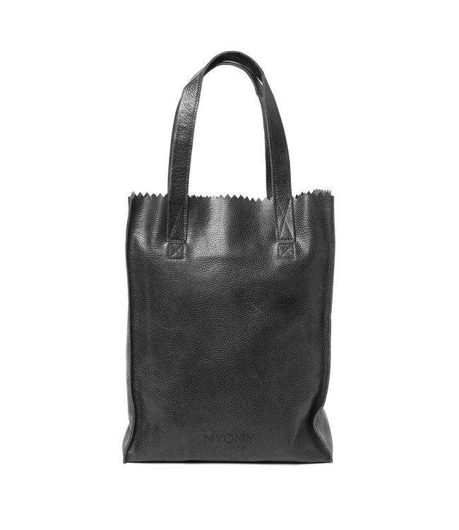 MYOMY My Paperbag Long Handle Zip rambler black