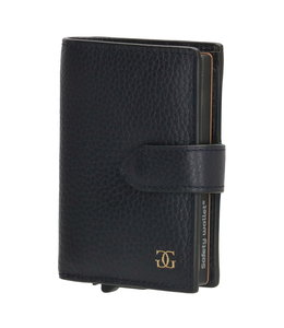 Gio Gini creditcard safety wallet blauw