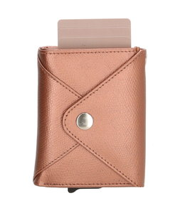 Safety Wallet Charm portemonnee rosegold metallic
