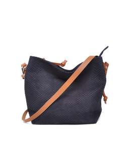 Berba Stretto crossbody medium royal navy