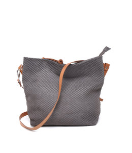 Berba Stretto crossbody medium dust grey