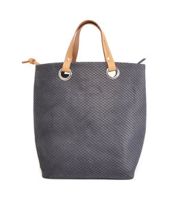 Berba Stretto shopper large royal navy
