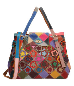Magic Bag Sissi hand-schoudertas multi bloem