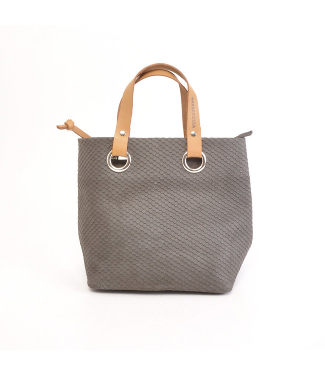Berba Stretto shopper small dusty grey