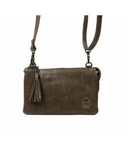 Bear Design Alessia portemonnee tasje dark grey