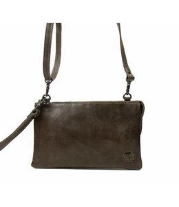 Bear Design Uma portemonnee tasje dark grey