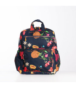 Oilily Winter Bouquet M Backpack navy night