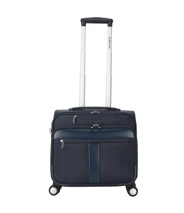 Decent B-Corso Business Trolley Deep Blue