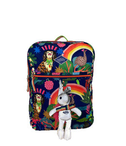 Oilily Treasure Hunt M Backpack cosmic sky